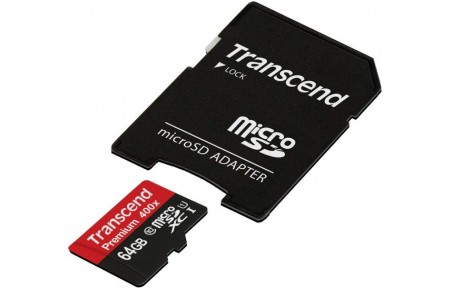 Memory card + Adapter